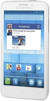 ALCATEL ONETOUCH Snap 7025D (White)