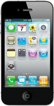 Apple iPhone 4S 16GB Neverlock (Black)