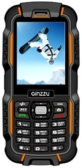 Ginzzu R6 DUAL (Orange/Black)