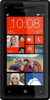 HTC Windows Phone 8X (Black)