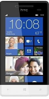 HTC Windows Phone 8S (Black White)
