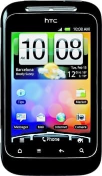 HTC Wildfire S (Black)