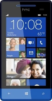 HTC Windows Phone 8S (Blue)