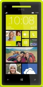 HTC Windows Phone 8X (Yellow)