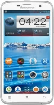 Lenovo IdeaPhone A850 (White)