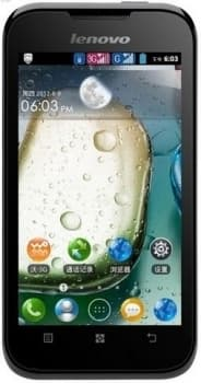 Lenovo IdeaPhone A66 (Black)