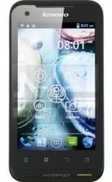Lenovo IdeaPhone A660 (Black Green)