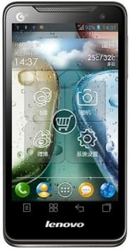 Lenovo IdeaPhone A798t (Black)