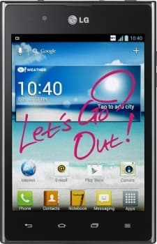 LG P895 Optimus Vu (Black)
