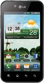 LG P970 Optimus Black (Black)