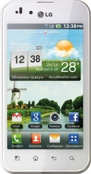 LG P970 Optimus Black (White)