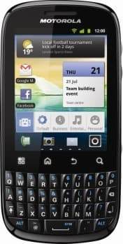 Motorola Fire (Black)