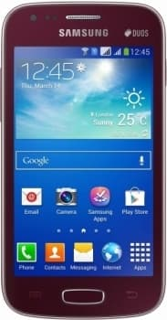 Samsung S7272 Galaxy Ace 3 (Wine Red)