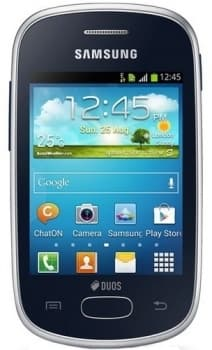 Samsung S5282 Galaxy Star (Black)