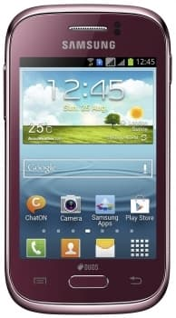 Samsung S6312 Galaxy Young (Wine Red)