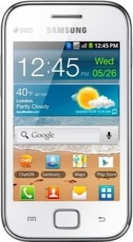 Samsung S6802 Galaxy Ace Duos (White)