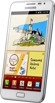 Samsung N7000 Galaxy Note (White)