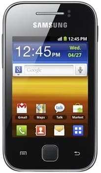 Samsung S5360 Galaxy Young (Black)