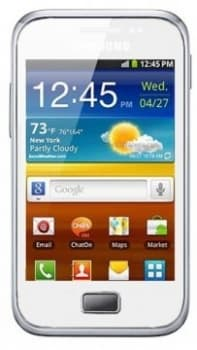 Samsung S7500 Galaxy Ace Plus (White)
