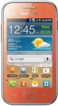 Samsung S6802 Galaxy Ace Duos (Orange)