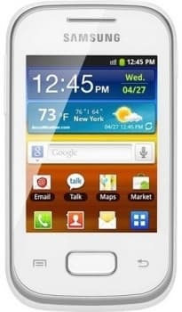 Samsung S5302 Galaxy Pocket Dual Sim (White)