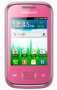 Samsung S5300 Galaxy Pocket (Pink)