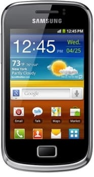 Samsung S6500 Galaxy mini 2 (Yellow)