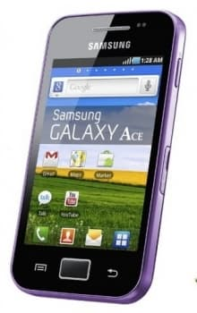Samsung S5830 Galaxy Ace (Purple)