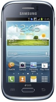Samsung S6310 Galaxy Young (Blue)