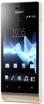Sony Xperia Miro (White/Gold)
